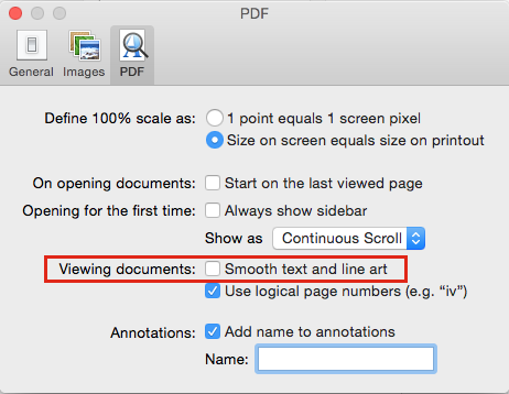 Yosemite not displaying PDF's properly in Preview – SOLVED